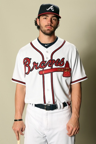 LAKE BUENA VISTA, FL - FEBRUARY 21: Dansby Swanson #7 poses for a portrait during Atlanta Braves Photo Day at Champion Stadium on February 21, 2017 in Lake Buena Vista, Florida. (Photo by Matthew Stockman/Getty Images)